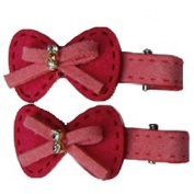 Hot Pink Bow Juliette Cips, Best Gifts for Kids