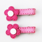 Hot Pink Blossom Juliette Clip, Beautful Gifts for Girls