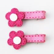 Hot Pink Blossom Juliette Clip, Beautful Gifts for Girls