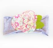 Ema Jane Shabby Chic Girl Flower Headbands - Fits Baby, Toddler, Child