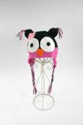 Animal Crochet Beanie Hat Owl Frog or Monkey for Toddler