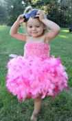 So Sydney Fuzzy Chenille Stretch Tutu Top for Toddlers & Girls in 12 Colours