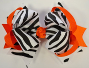 13cm Boutique Ring Hair Bow