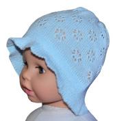 Crochet Summer Sun Hat, Size 3-12 M, Colour