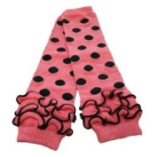 Cotton Leg Warmers with Ruffles
