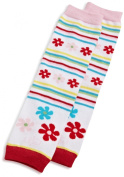 BabyLegs Baby-girls Infant Flower Factory Legwarmer