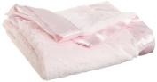 Little Me Baby-Girls Newborn Plush Stroller Blanket
