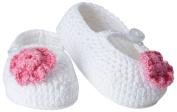 Jefferies Socks Baby-Girls Infant Flower Mary Jane Bootie