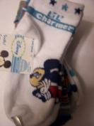 Disney Mickey or Minnie Mouse 4 Pair Infant Socks