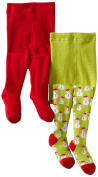 Country Kids Baby-girls Infant Snowman 2 Pair Tights