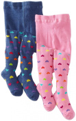 Country Kids Baby-girls Infant Hearts 2 Pair Tights