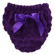 Fancy Chiffon Rosette Baby Nappy Cover Bloomer