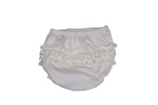 Perla (creme) Ruffle Bloomer By Cute As Buttons