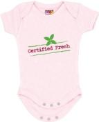 """Certified Fresh"" Pink Bodysuit/Onesie"