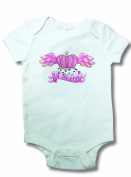 Light of Mine Designs Little Princess Tattoo Short Sleeve Bodysuit