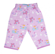 Funkoos Organic Pant for Newborn Baby Infant - Pony Print 100% organic cotton
