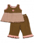 Cloud Mine - Newborn Girls Sleeveless Pant Set
