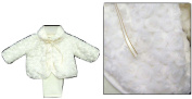 Polar Fleece Outfit with White Fur 12 - 18 Months