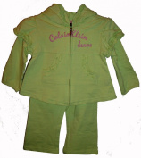 Calvin Klein Infant & Toddler Girls 2 Pc. Outfit Available in Several Sizes & Colours