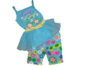 Krazy Legs Infant Tank Top with Tutu Shorts Clothing Set