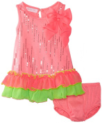 Bonnie Baby-Girls Infant Dress With Panty