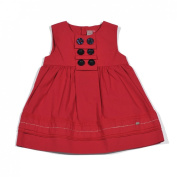 """Petit Lem """"Pretty By the Sea"""" Dress, 6 Months - 3, Red"""