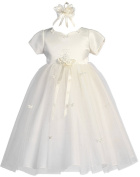 Baby-Girls KID Collection New Butterfly Tulle Flower Girl Dress plus Headband