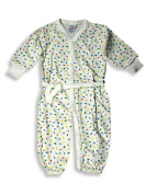 Sara's Prints - Newborn Baby Girls Long Sleeved Convertible Coverall