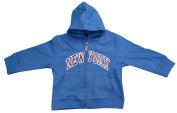 New York City Infant Baby Zippered Hoodie Sweatshirt Turquoise
