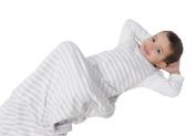 Woolino 4 Season Toddler Sleep Bag, 100% Natural Merino Wool Sleep Sack, 2-4 Years