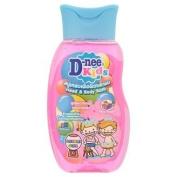 D-nee Kids Head & Body Bath Bubble Gum, 200ml