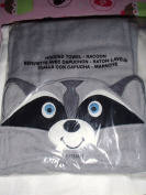 Avon Raccoon Towel Baby Infant Toddler Hooded