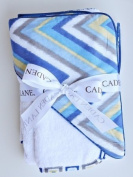 Caden Lane Ikat Collection Chevron Hooded Towel Set