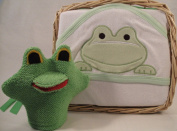 Hooded Froggy Bath Towel