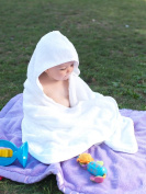 Hooded Baby & Toddler Turkish Towel with Thumb Mitt