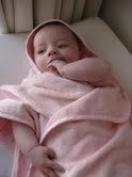 Baby Kimono Hooded Towel