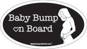 Baby Bump on Board Elizabeth Car Magnet