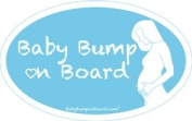 Baby Bump on Board Elizabeth Car Magnet