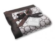 SwaddleDesigns Fuzzy Stroller Blanket