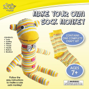 Craft for Kids - Make Your Own Sock Monkey