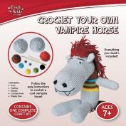 Craft for Kids - Crochet Your Own Vampire Horse