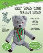 Craft for Kids - Knit Your Own Teddy Bear