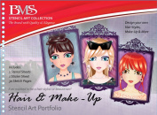 Stencil Art Portfolio - Hair & Makeup