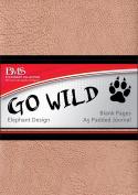 Go Wild A5 Journal - Elephant