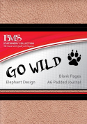 Go Wild A6 Journal - Elephant