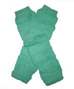 EMERALD GREEN RUFFLES Baby Sweet Leggings/Leggies/Leg Warmers - BubuBibi