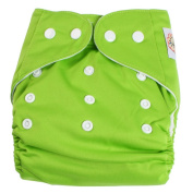 Adjustable Reusable Washable One Size Baby Cloth Nappy Nappies Nappy 1 Nappy + 2 Inserts