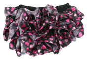 Baby Satin Ruffle Nappy Covers Infant Bloomers 6-12 mths
