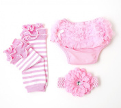 Ema Jane Ruffled Woven Baby Nappy Bloomer Covers