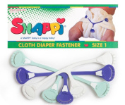 Snappi Cloth Nappy Fasteners - Pack of 3